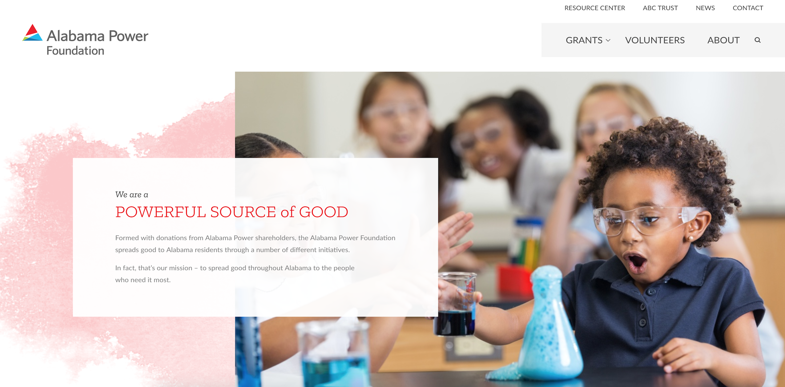 Alabama Power Foundation Website
