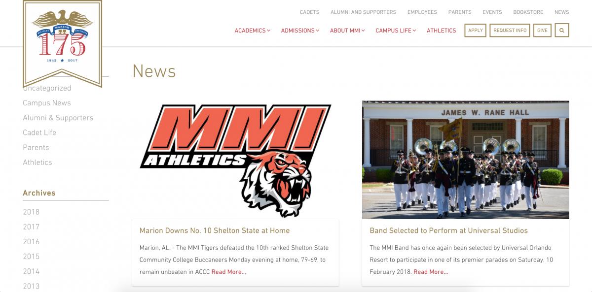 MMI Blog Page
